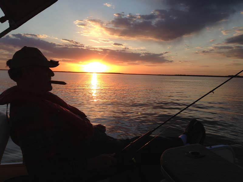 Lake Somerville sunset.jpg